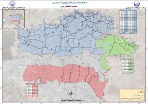 طراحی تفصیلی و مطالعات لرزه ای  شبکه توزیع آب تحت پوشش 46 مخزن بالاتر از تراز ارتفاعی 1326 شهر تهران